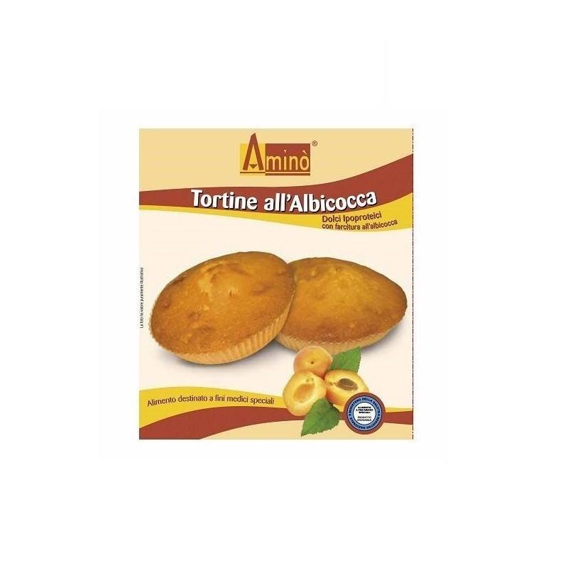 AMINO - Tortine all'Albicocca - Dolci ipoproteici 210 g