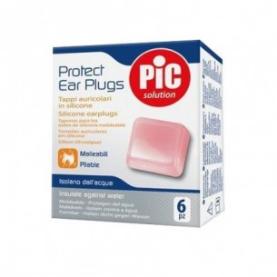 Protect Ear Plugs - 6 tappi auricolari in silicone