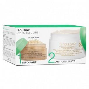 Routine anticellulite - Gel fango anticellulite 400 ml + Talasso scrub anti-acqua 150 g