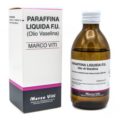 MARCO VITI - Olio Di Vaselina Paraffina Liquida 200 Ml