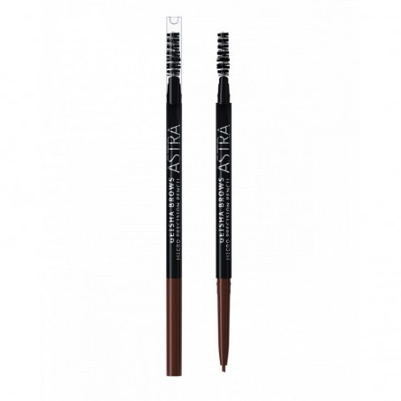 ASTRA - Geisha Brows Micro Precision Pencil - Matita sopracciglia N.04 Taupe