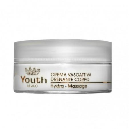 YOUTH MILANO - Crema Vasoattiva drenante corpo hydra massage 200 ml