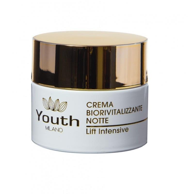 YOUTH MILANO - Crema Biorivitalizzante Notte lift intensive - crema antietà 50 ml