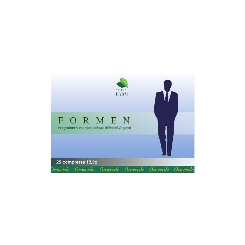 OMEOSALUSVET - Formen 25 Compresse - integratore per il benessere della prostata