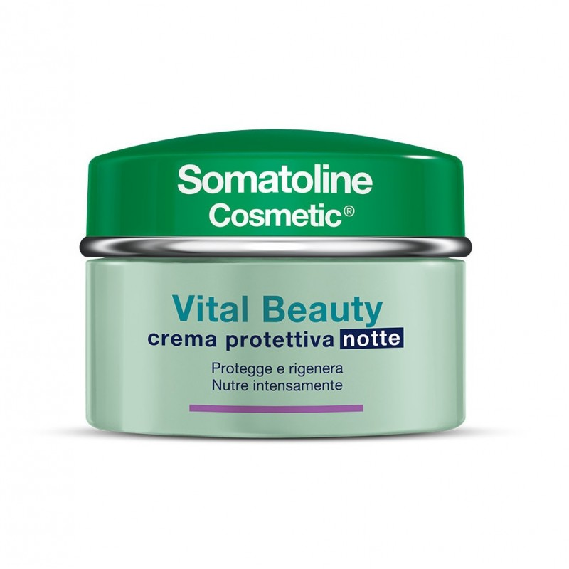 Somatoline - Vital Beauty - crema protettiva notte 50 ml