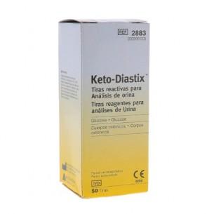 Keto-diastix - 50 Strisce per la misurazione Glicosuria