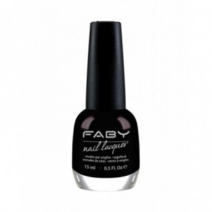 Nail Lacquer - Smalto per unghie 15 ml - Black Is Black