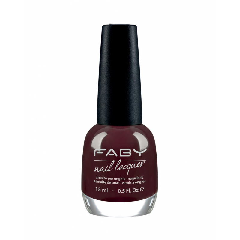 FABY - Nail Lacquer - Smalto per unghie 15 ml - The Importance of being earnest