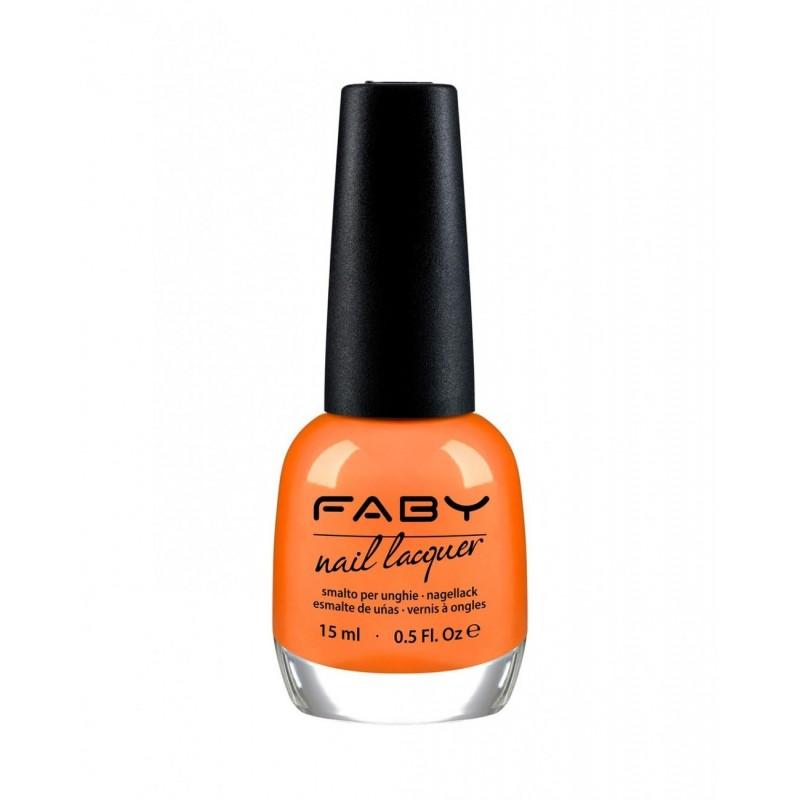 FABY - Nail Lacquer - Smalto unghie 15 ml - Vitamins Juice