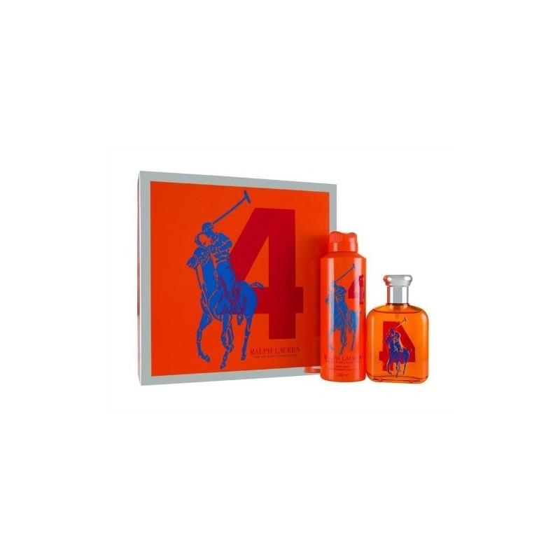 RALPH LAUREN - Cofanetto The Big Pony collection 4 - Edt uomo 75 ml + spray corpo 200 ml
