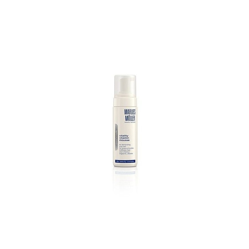 MARLIES MOLLER - Pashmisilk Delight Vitamin Mousse - Schiuma vitaminica per capelli 150 ml