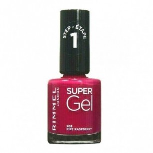 Super Gel - Smalto N.208 Ripe Raspberry