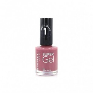 Super Gel - Smalto N.205 Deep Mauve