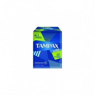Tampax & Go Super - 18 assorbenti interni (Confezione Danneggiata)