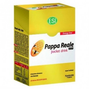 Pappa Reale 16 Pocket Drink - Integratore ricostituente