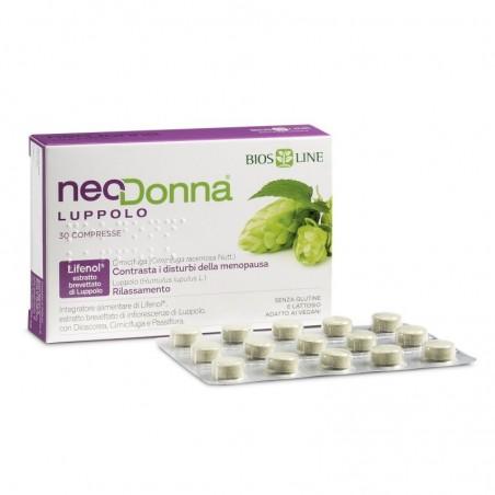 BIOS LINE - Neodonna Luppolo 60 compresse - integratore per la menopausa