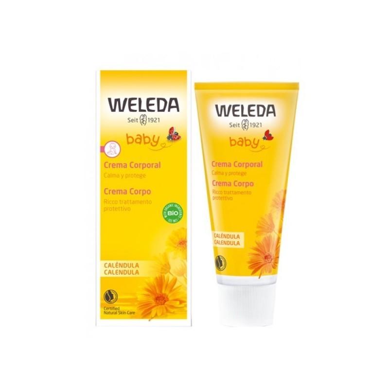 WELEDA - Calendula Baby - crema corpo per la pelle dei neonati 75 ml