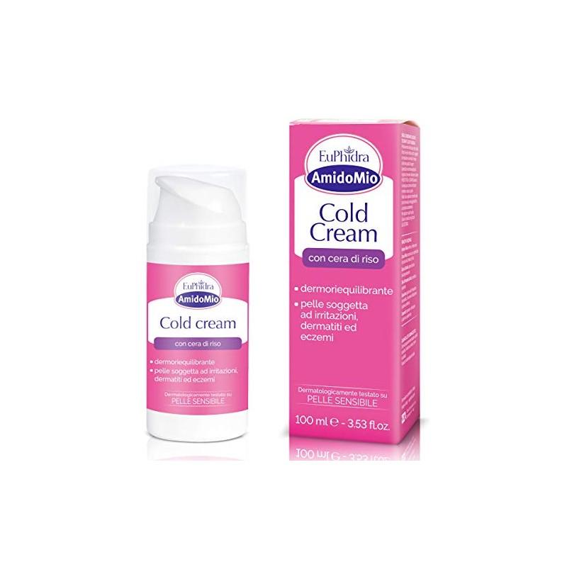 EUPHIDRA - cold cream - crema per pelli sensibili e irritate 100 ml