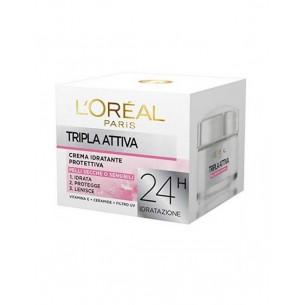 Tripla Attiva - Crema idratante protettiva 50 ml