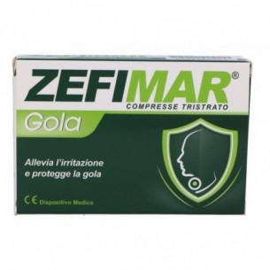 Zefimar Gola 24 compresse - dispositivo medico per il mal di gola