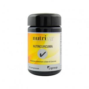 Nutricurcuma - Integratore antiossidante a base di curcuma 30 compresse