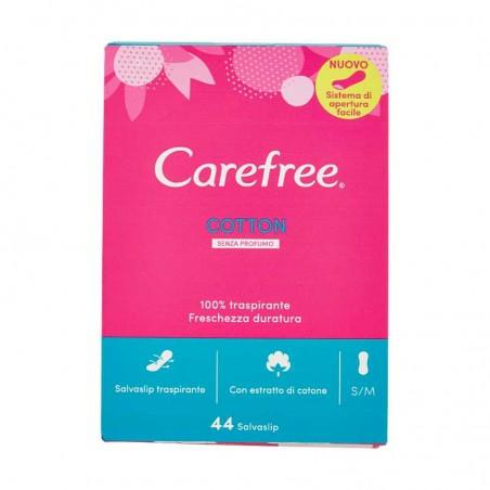 CAREFREE - Cotton proteggi slip traspirante - confezione da 44 salvaslip