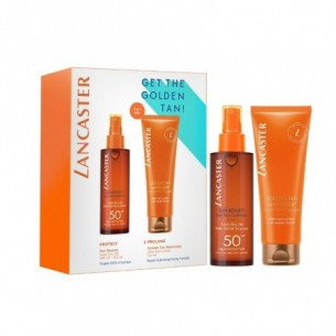 Sun Kit duo - Olio SPF50 tan optimizer Spray 150 ml + Doposole golden tan maximizer 125 ml