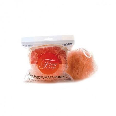 ZECA - Fleur Massage Pomplemo - Spugna profumata per massaggio tonificante 80 g