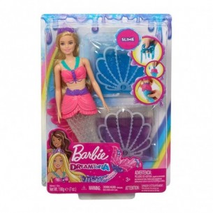 Barbie Dreamtopia - Bambola Sirena con Slime