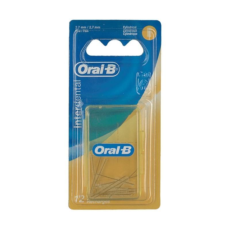 ORAL-B - Interdental - 12 scovolini di ricambio da 2,7 mm