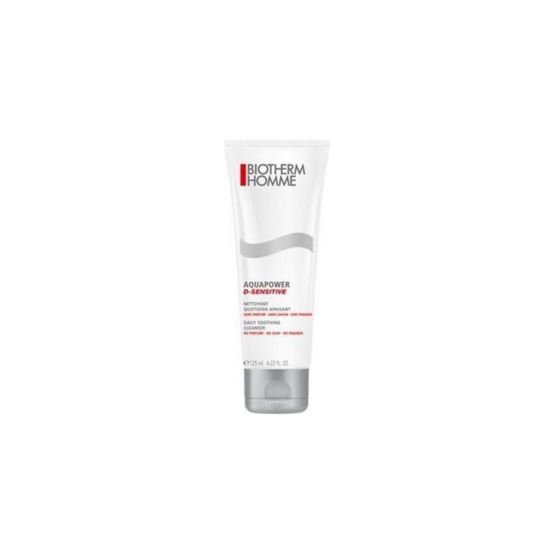 BIOTHERM - detergente viso per pelli sensibili homme aquapower d-sensitive 125 ml
