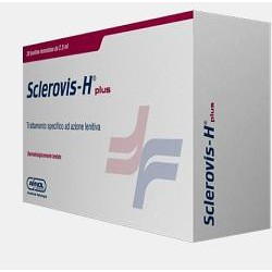 Sclerovis H Plus - Crema Per Le Gambe Lenitiva 20 Bustine Monodose