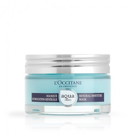 L'OCCITANE - Aqua Réotier - Maschera viso Idratazione Minerale 75 ml