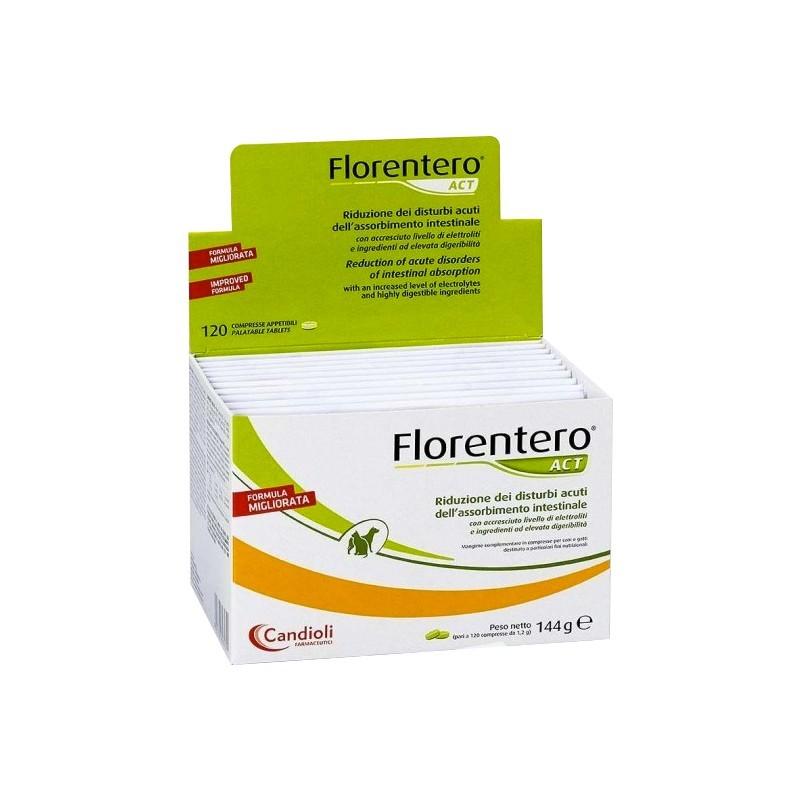 CANDIOLI - Florentero Act 120 compresse - mangime complementare per disturbi gastrointestinali