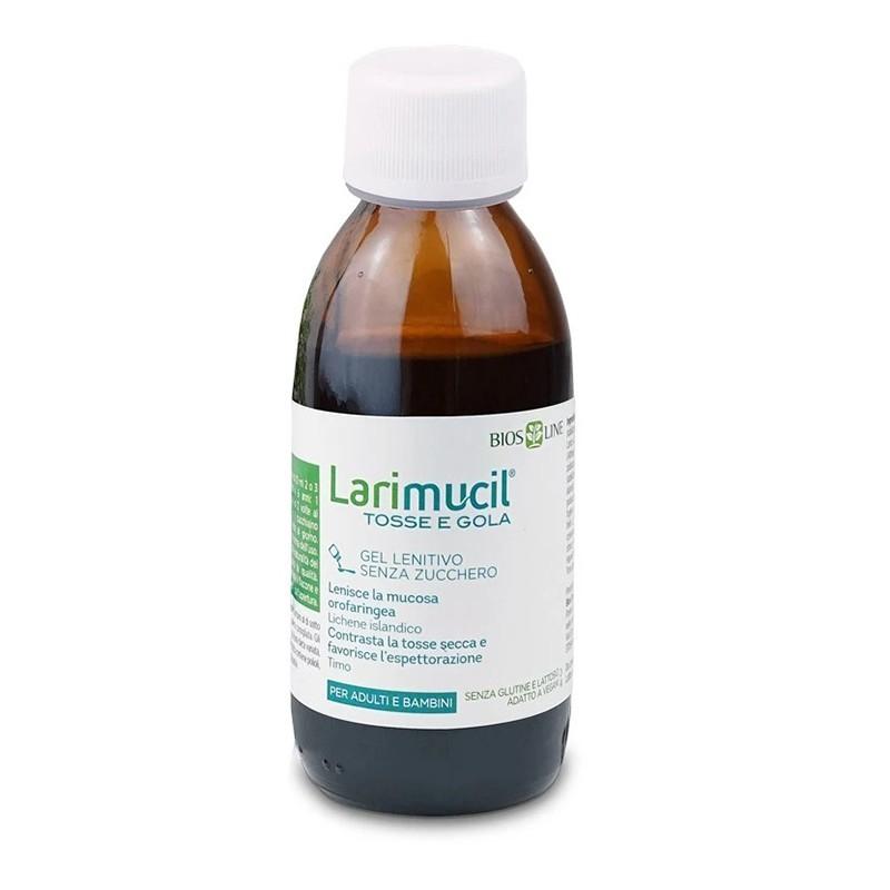 BIOS LINE - Larimucil Tosse Gola 120 Ml - Integratore per la tosse secca e grassa