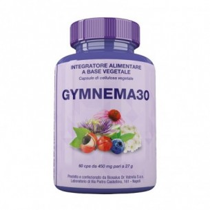Gymnema 30 - Integratore per il controllo del senso di fame 60 capsule da 450 mg