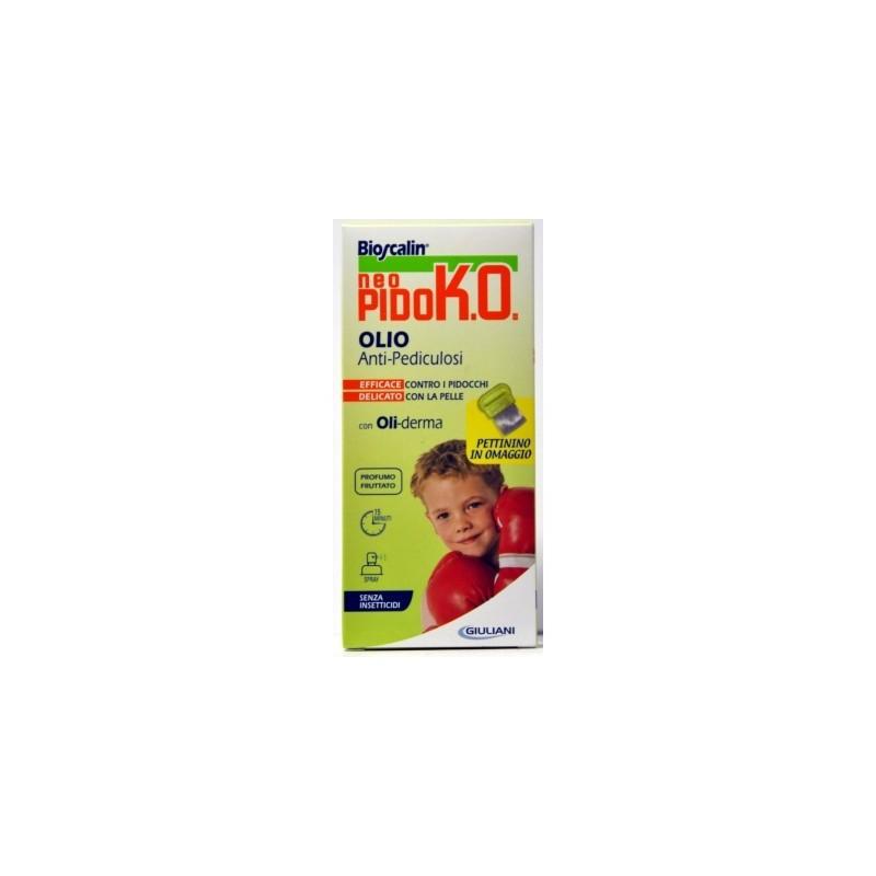 Bioscalin - Trattamento Antipidocchi   Neo Pidk.O. Olio Antipediculosi 75 Ml