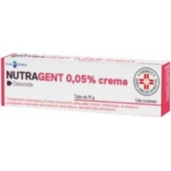 Nutragent 0,05% crema - irritazioni e infiammazioni cutanee 15 g