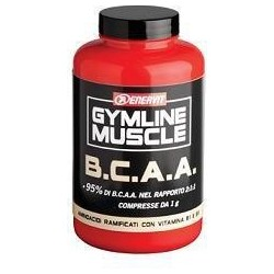 Gymline Muscle Bcaa (95%) 120 Capsule - Integratore Per Lo Sport