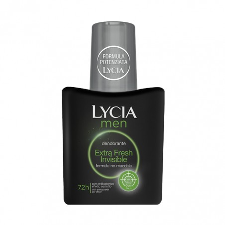 LYCIA - Men Extra Fresh Invisible - Deodorante vapo 75 ml