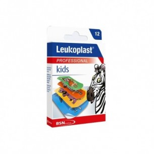 Leukoplast Kids - 12 cerotti assortiti per bambini