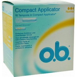 16 tamponi interni con applicatore