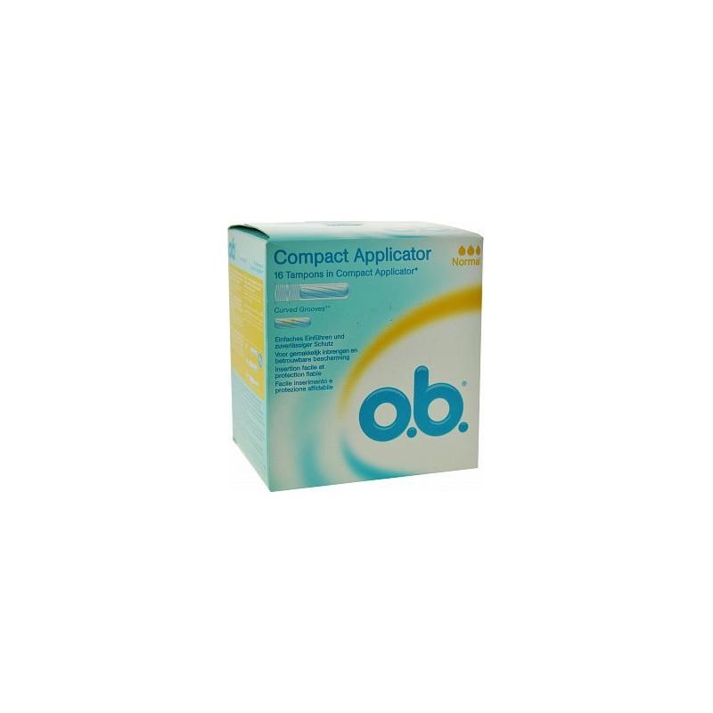 O.B. - 16 tamponi interni con applicatore