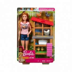 Barbie Carriere - Fattoria Dei Polli Playset