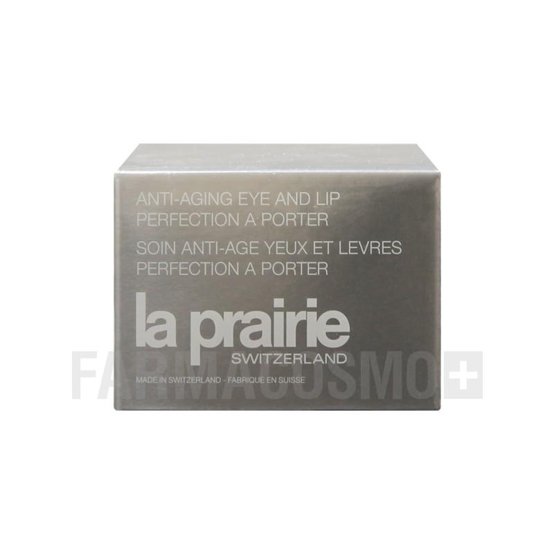 LA PRAIRIE - anti-aging eye and lip perfection a porter gel contorno occhi e balsamo labbra 7,5 g