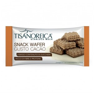 Tisanoreica T-Wafer Cacao - snack monodose 35 g