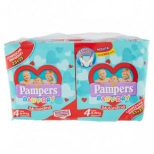 Baby Dry Mutandino - 46 Pannolini pacco doppio Misura 4 Maxi 8-15 kg