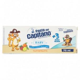 Baby - Dentifricio Tuttifrutti +3 Anni 75 ml