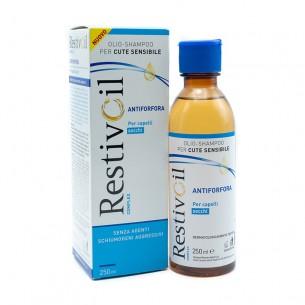 complex - olio shampoo antiforfora capelli secchi 250 ml