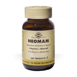 Neomam 120 tavolette - integratore di vitamine e minerali utile per la gravidanza
